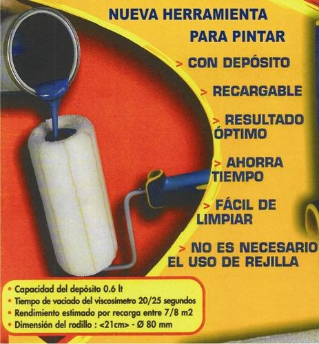 rodillo recargable (tecno italiana)
