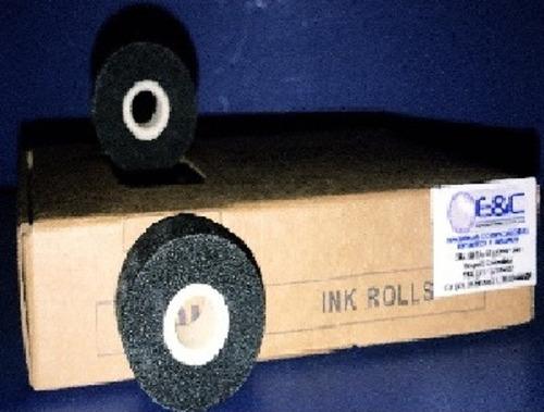 rodillo tinta seca para selladora caja x24 o x12unds