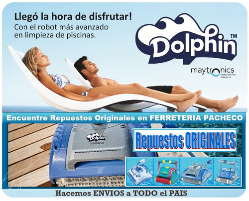 rodillo wonder p robot dolphin diagnostic supreme m4