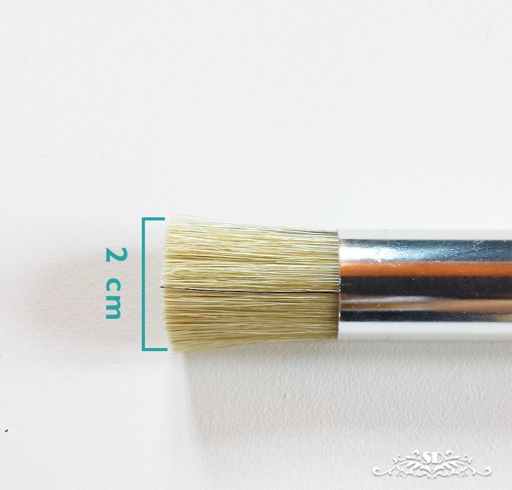 Rodillo Y Pincel Para Pintar Con Stencil Plantilla Decorat