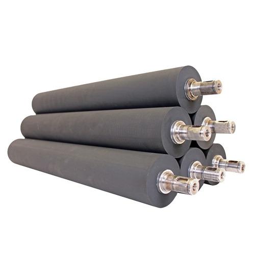 rodillos de hule maquinas emplayadoras torre recubrimiento