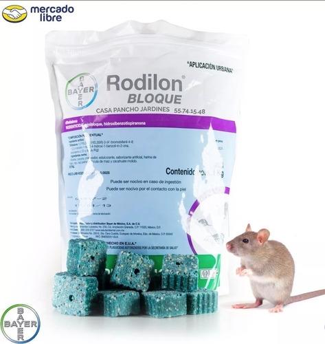 rodilon bloque 1kg veneno para ratas envio gratis