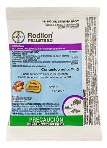 rodilon pellets sd bayer sobre 25 g