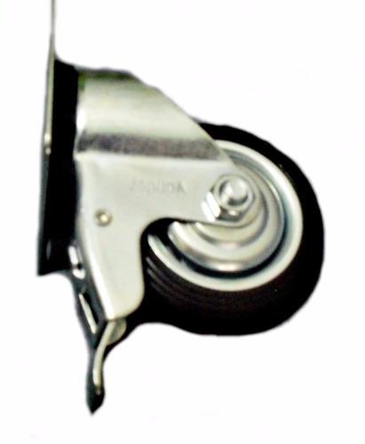 rodizio giratório 4 '' ( 101 mm )