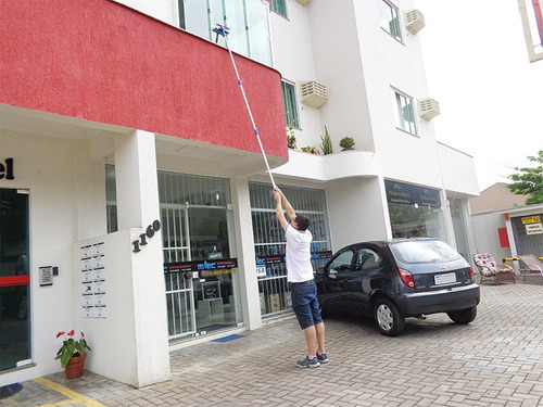 rodo limpa vidros cabo extensor 3,10 mts p/ janelas altas