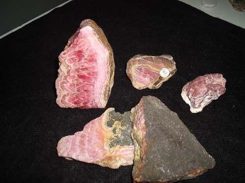 rodocrosita  masiva  y cristalizada