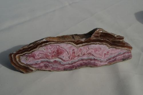 rodocrosita. mineral de roca para coleccionistas
