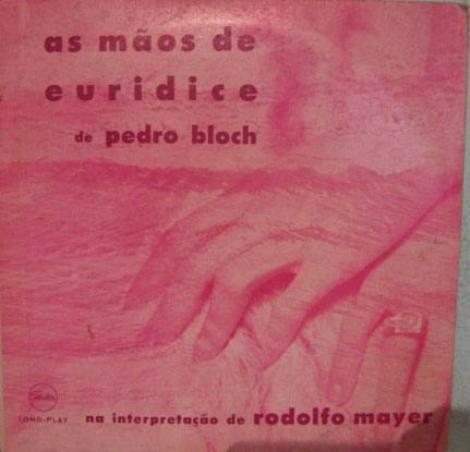 rodolfo mayer - as mãos de eurídice - 10 polegadas 2 lp's