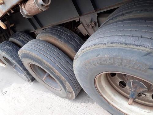 rodotrem 9 eixos guerra ano 2013 com pneus   conjunto novo
