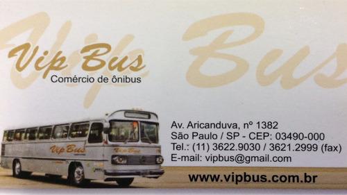 rodoviário com ar condicionado of1722 2006/2007 vipbus