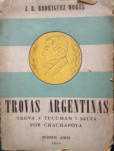rodriguez morel, j.r. - trovas argentinas. trova a tucuman y