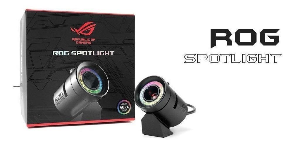 Rog Spotlight Logo Asus Aura Rgb Led Projector Case Mod