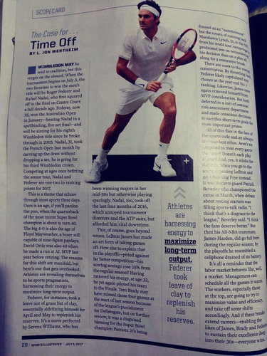 roger federer shaquille o'neal revista sports illustrated
