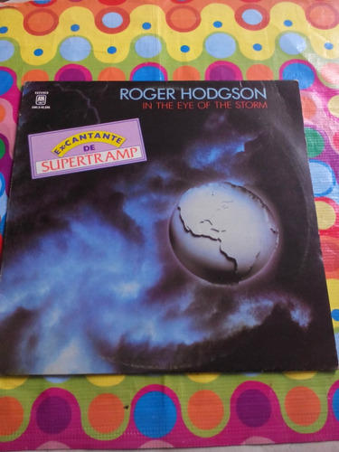roger hodgson lp 1984 in the eye of the storm.