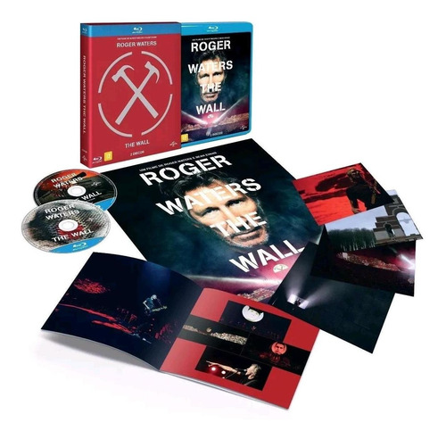roger waters - the wall - blu-ray duplo - roger waters