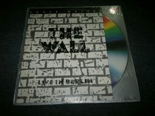 roger waters the wall live in berlin en formato laser disc