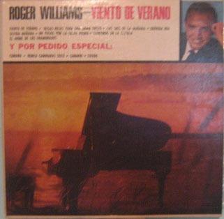 roger williams - summer wind -  lp importado uruguai