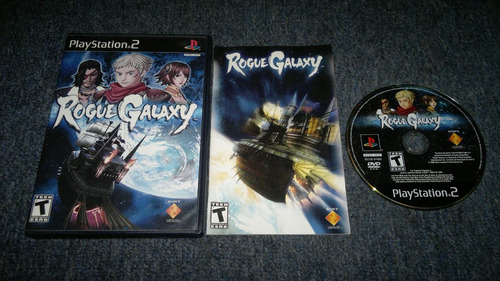 rogue galaxy completo para play station 2,excelente titulo
