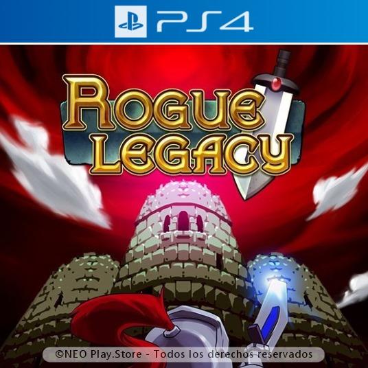 Rogue Legacy Juego Ps4 Plataformas 2d Indie Aventura Gtia 179