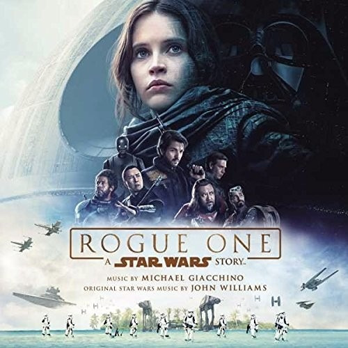 rogue one a star wars story soundtrack disco cd con 21 temas