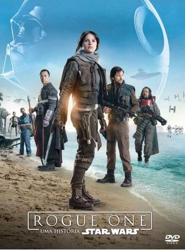 rogue one - uma história star wars - dvd