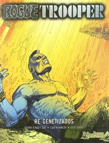 rogue trooper 05. re-genetizados - gerry finley-day