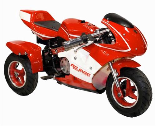 rojabe moto ninja niño