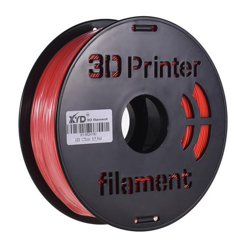 rojo 1kg / carrete colorido abs filamento 1.75mm diámetro p
