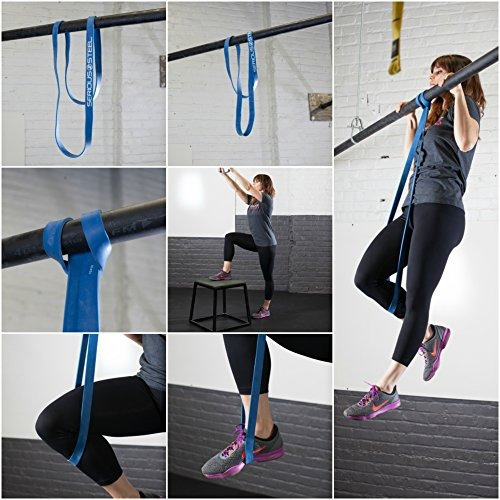 rojo - # 2 monster mini pull-up assist & resistance band (ta