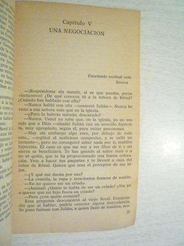 rojo y negro. stendhal. bruguera.1a ed. 1980. españa.