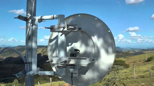 roket m5 150 megas con parabola dish de 34 dbi