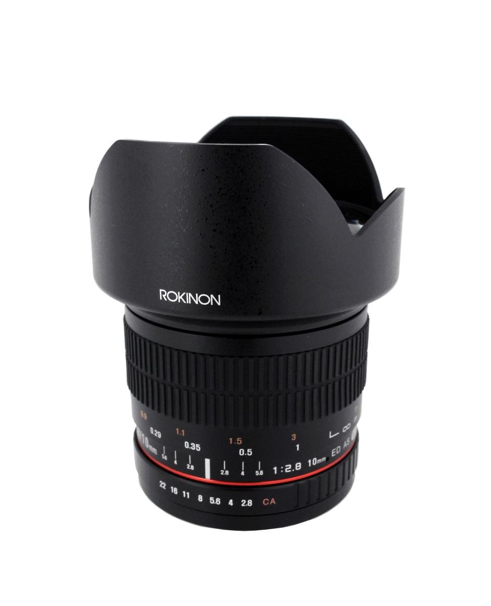 Rokinon 10 Mm F28 Ed As Ncs Cs Lente Ultra Gran Angular ...