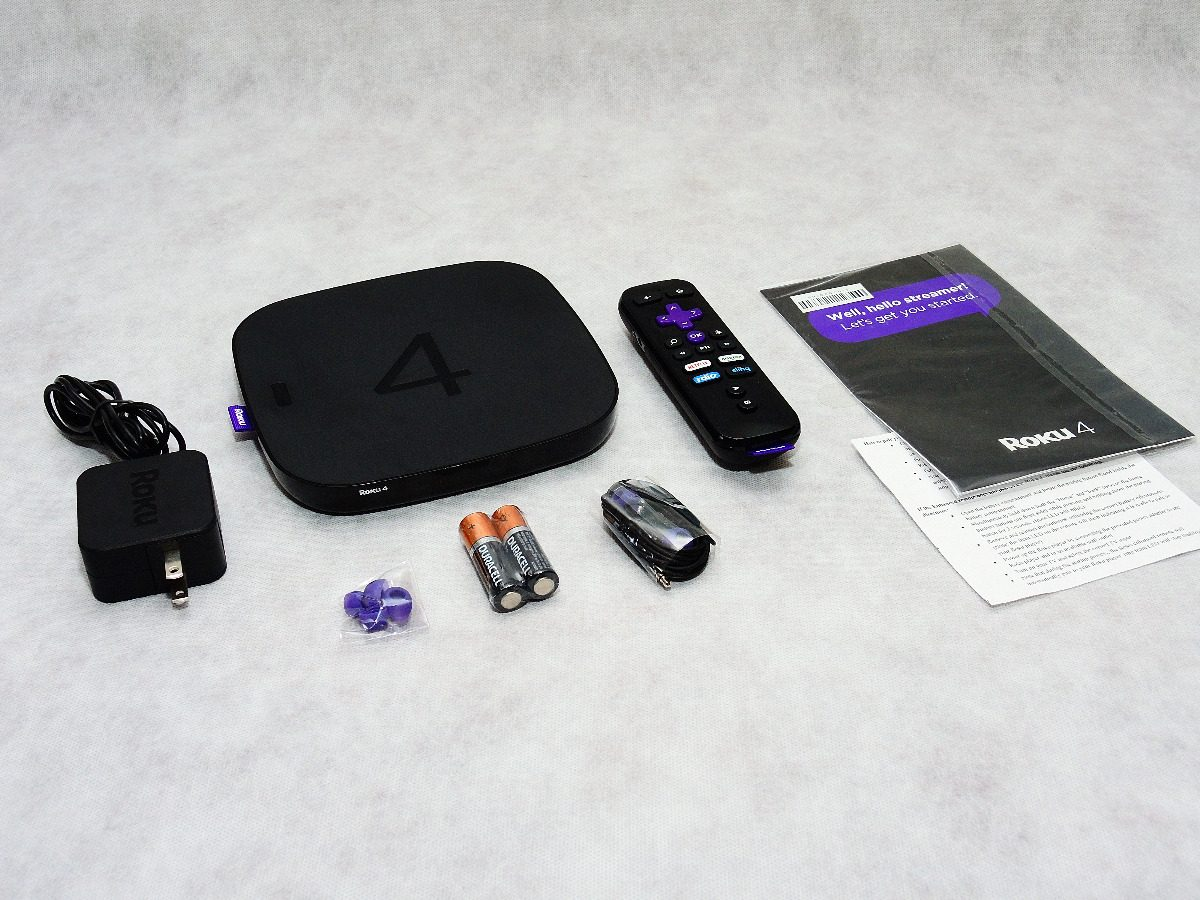 Roku 4 Streaming Media Player (4k/uhd) Roku4 4400x