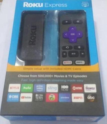 roku express convertidor de tv hdmi clásica a smartv simple