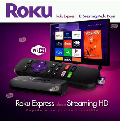 roku express convierte tv en smart tv hdmi (oferta)