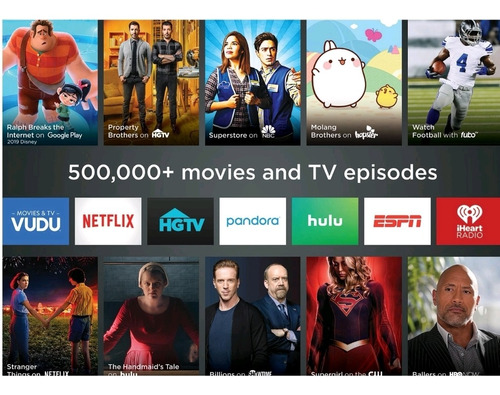 roku express hd con control / netflix, smart tv, apple tv
