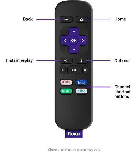 roku express hd convertidor smar tv.  delivery