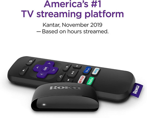 roku express hd smart tv streaming player netflix  youtube