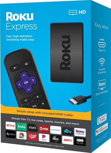 roku express hd tv hd streaming convertidor smartv