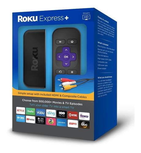 roku express plus / smart android chromecast 2