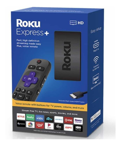 roku express+ plus smart tv hdmi tv netflix youtube