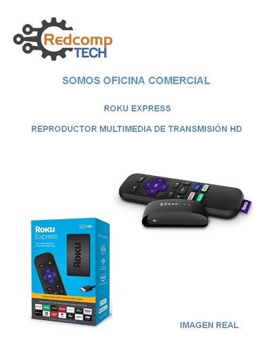 roku express reproductor multimedia de transmisión hd