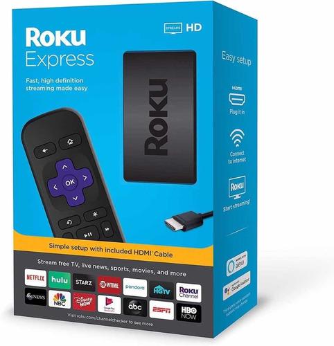 roku express tv hd streaming netflix youtube smart