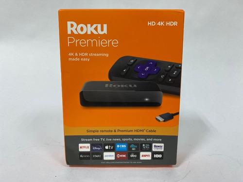 roku premiere 4k, hd y hdr streaming media player tienda