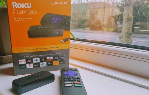 roku premiere hd 4k hdr netflix youtube smart tv 3m gntia