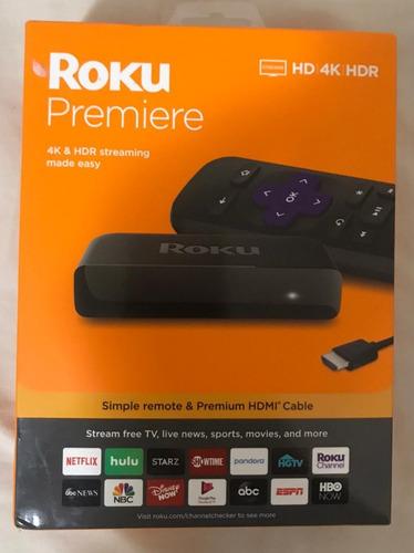 roku premiere. streaming tv de alta calidad. mejor precio !
