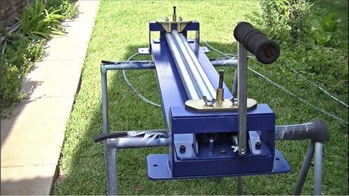 roladora curvadora cilindradora de conos de diámetros chicos