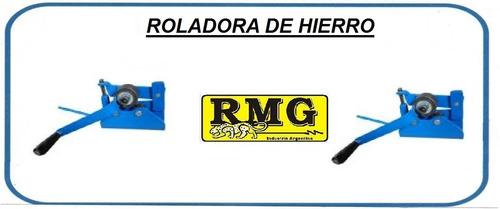 roladora dobladora manual rmg para herreria profesional