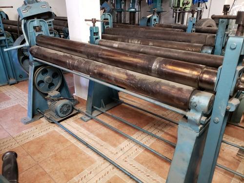 roladora electrica nueva frinab 1520 mm x 4 mm