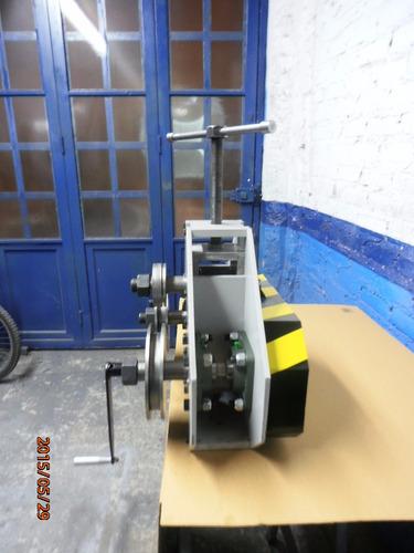 roladora  manual      de  tubos y perfiles